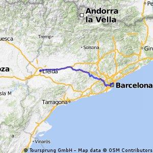 Barcelona - Lleida