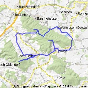 Drei-Berge-Tour durch Deister & Süntel