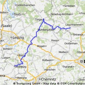 Tour de Saxony - 3. Etappe Elsterwerda - Altenburg