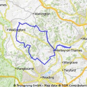 Henley-on-Thames ja maaseutua