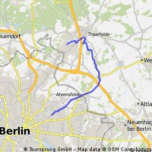 Bernau -> Ahrensfelde