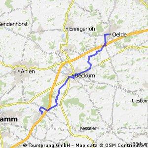 Arbeitsweg Beckum Alter Hammweg