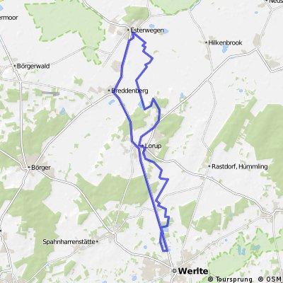 Hümmlinger Pilgerweg Esterwegen - Werlte