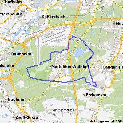 Rund um den Rhein/Main Flughafen