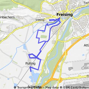21,1 km ab Pulling