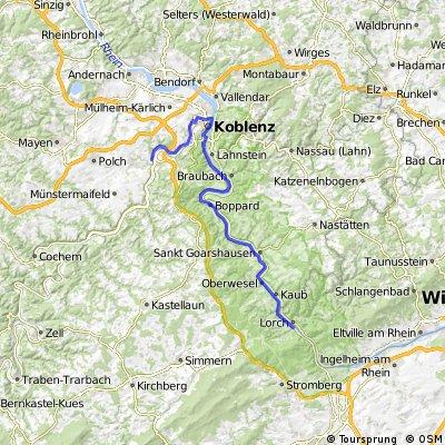20090817  - Teil 2 - Niederheimbach - Koblenz - Kobern