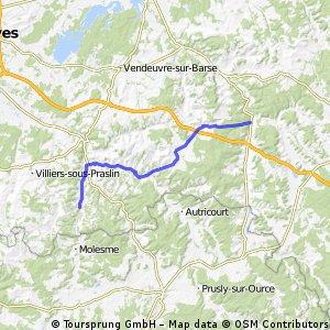 Camino 2015 6b Clairvaux nach Les Riceys