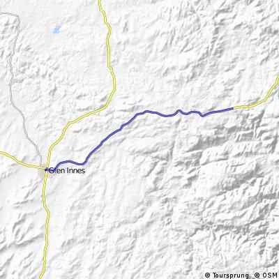 Mt Mitchell to Glenn Innes