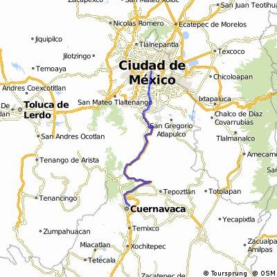 México - Cuernavaca