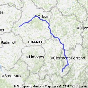 Via Sankti Martini: Le Puy - Tours