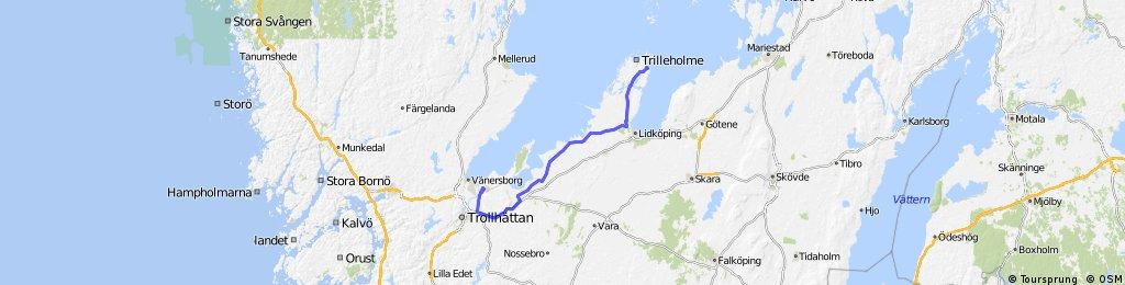 Vargön -Läckö Slott 12 Mai 13