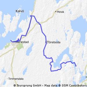 Mariestad - Forsvik 14 MAI 13