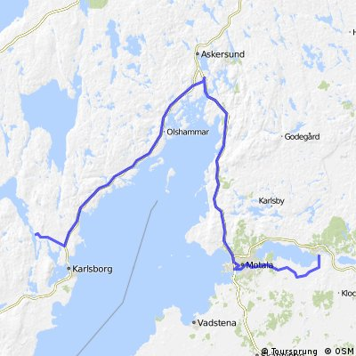Forsvik - Borensberg 15 MAI 13