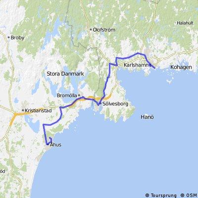 Karlshamn - Ahus 21 Mai 13