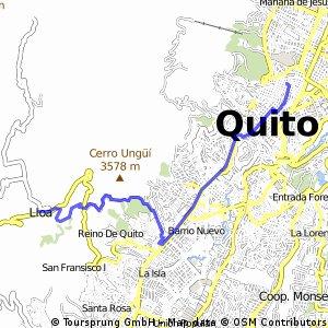 Quito - Lloa