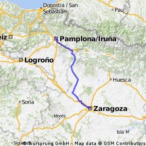 Pamplona- Zaragoza
