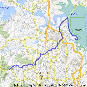 Cabbage Tree Creek Pathway Ride