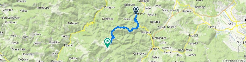3. Kreševo-Vrela-Blinje-Naošići-Jagoda-Trebac-Anišće-Bitovnja