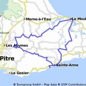 Guadeloupe 60.29 km
