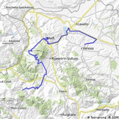 Tour Basilicata nord 3: da Venosa a San Fele
