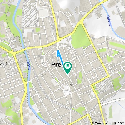 Šprint na 1 kilometer - TOUR DE PREŠOV