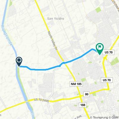 Bike Ride Along Road - El Camino Real 2301