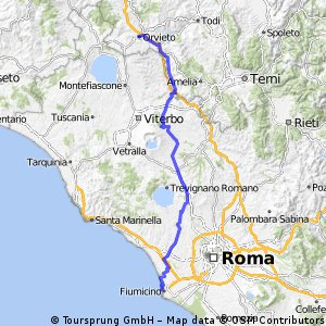 Cycling Routes And Bike Maps In And Around Orvieto Bikemap