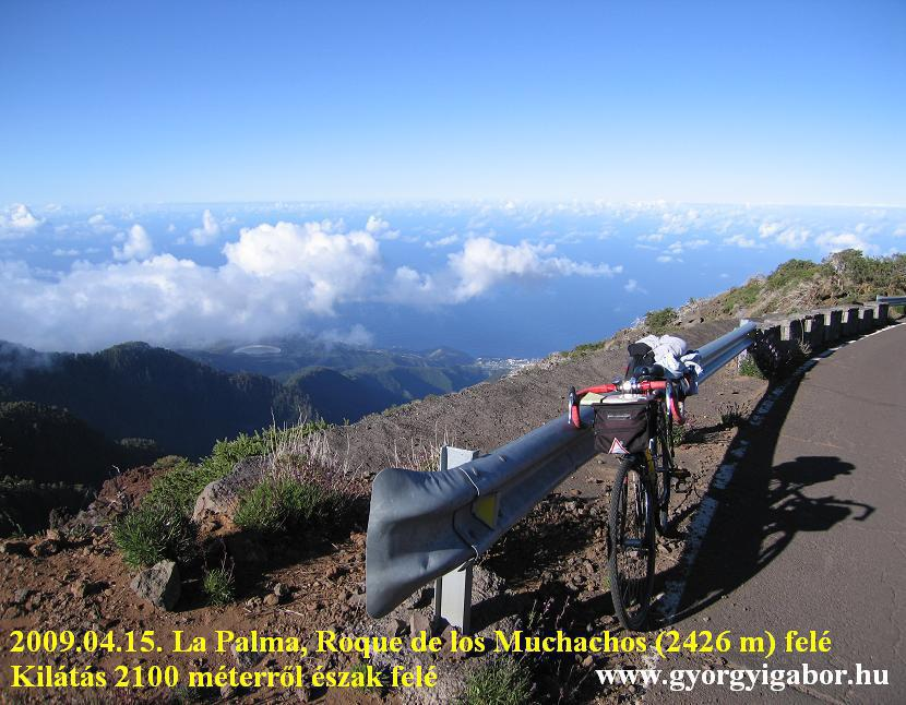 Santa Cruz de la Palma - Roque de los Muchachos + back - 2009. April