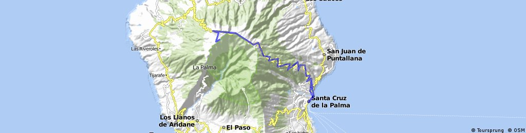 Santa Cruz de la Palma - Roque de los Muchachos + back - 2009. April