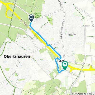 Obertshausen Von der Frankfurterstr. zum Monte Mare