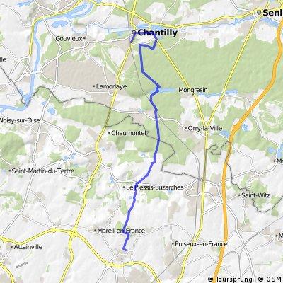 Goussainville - Chantilly