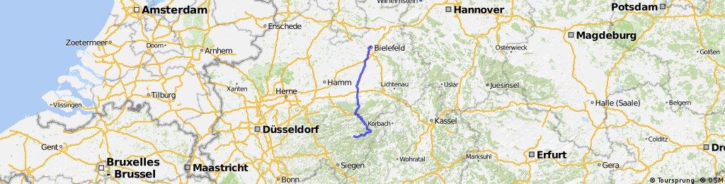Team WEISSER RING on Tour 2015_3.Etappe_Bielefeld-Schmallenberg