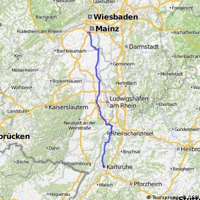 Team WEISSER RING on Tour 2015_6.Etappe_Mainz-Karlsruhe