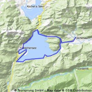 Ab Jachenau rund um den Walchensee
