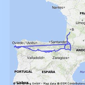 St.Jacobsroute Spanje