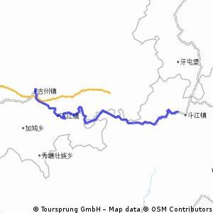 Rongjiang to Sanjiang