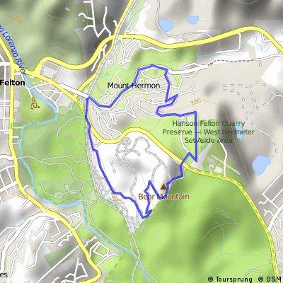 Intermediate bike ride - Mount Hermon Seminar