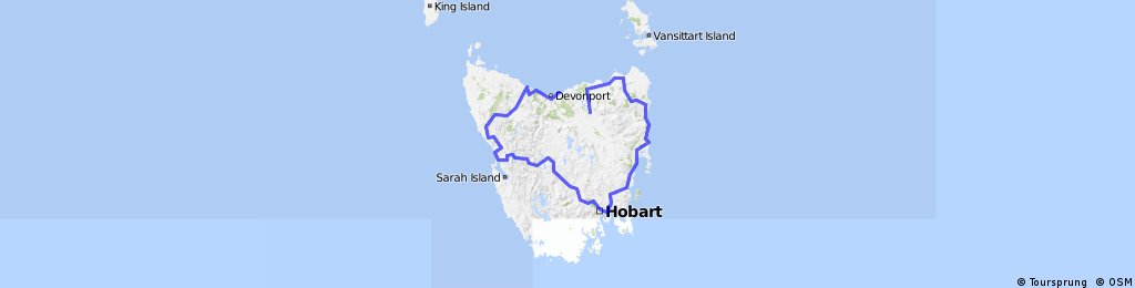 Overview Tasmania
