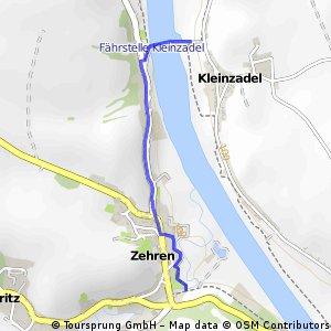 D 070a Verbindung Elberadweg (ohne Meißen)