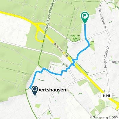Obertshausen von der Joseph Eichendorff Schule zur Waldschule