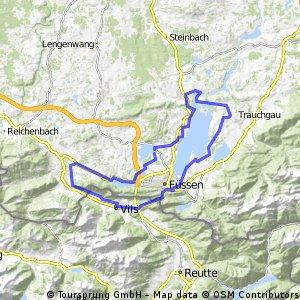 Hopfensee - Forggensee - Weißensee