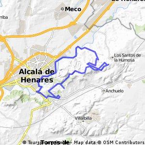 Alcalá-Santos de la Humosa-Parque Natural 07.03.15