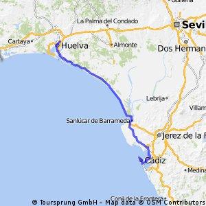 Huelva-Cadiz