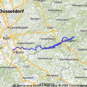 Siegtal-Radweg