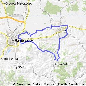 2015_03_08 Wysoka - Albigowa - Handzlówka - Wola Rafałowska - Malawa - Rzeszów - Krasne - Strażów - Krzemienica - Łańcut - Głuchów