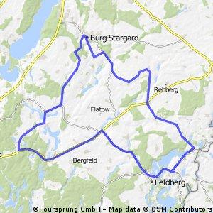 Grosse Dörferrunde in Mecklenburg