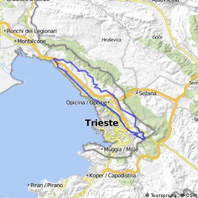 Vedette del Carso - Julius Kugy Trail