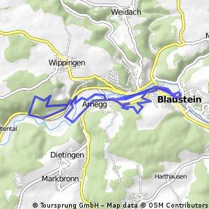 Kleine Runde um Blaustein -Arnegg