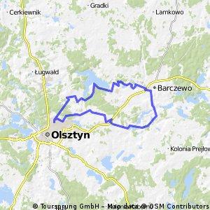 Olsztyn-Wójtowo-Barczewo-Wadąg-Olsztyn