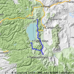 2015 mini tour Day 1: TRT & Flume from Tahoe Meadows to Markleeville